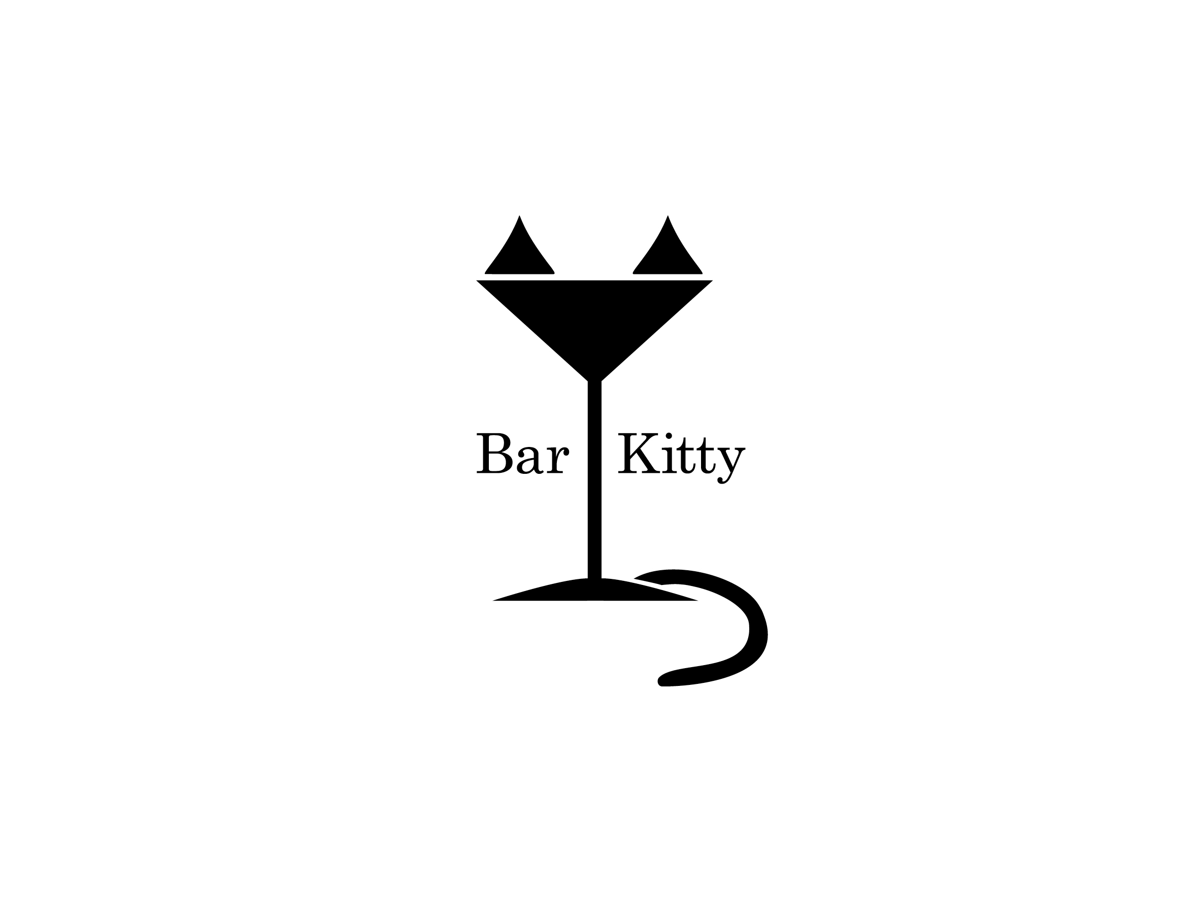 bar kitty logo design designed by Dakini Design Saltaire, Shipley, Bradford
