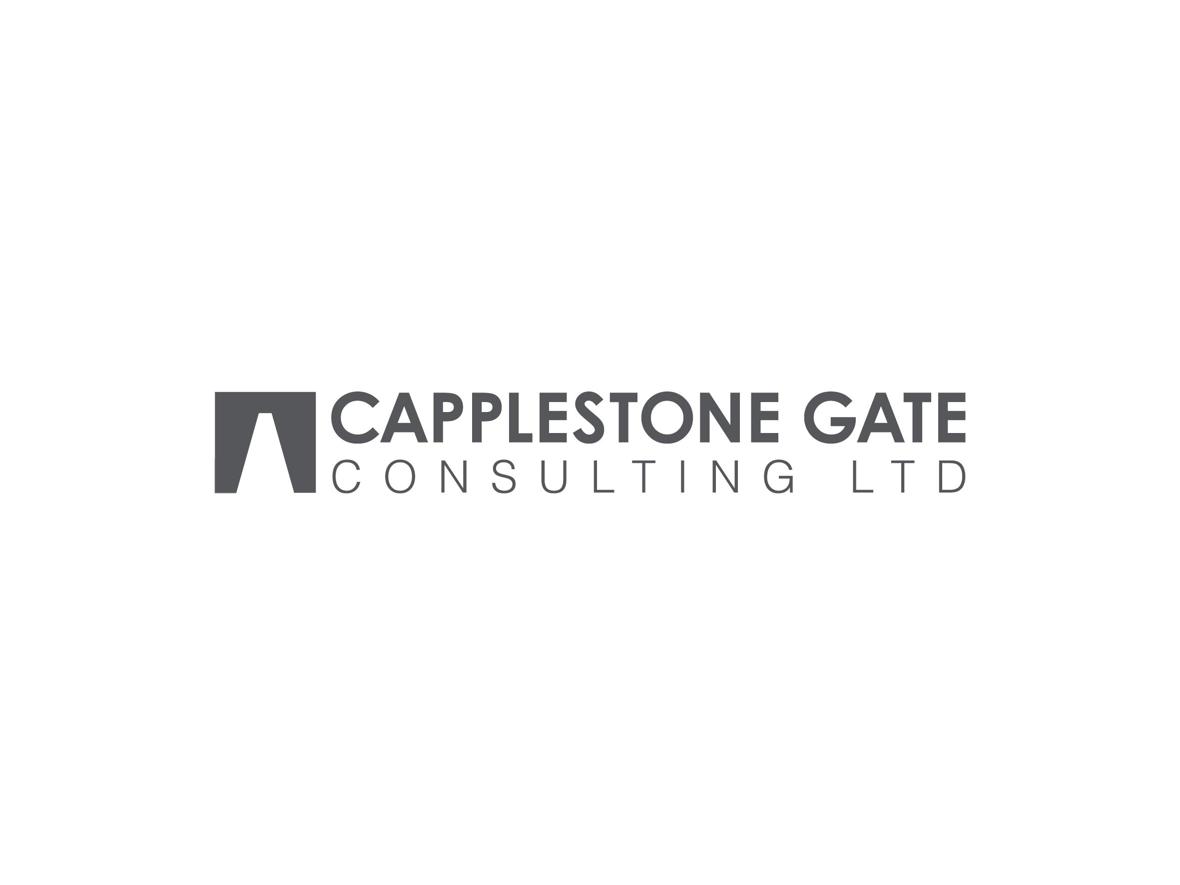 capplestone gate consulting logo design designed by Dakini Design Saltaire, Shipley, Bradford