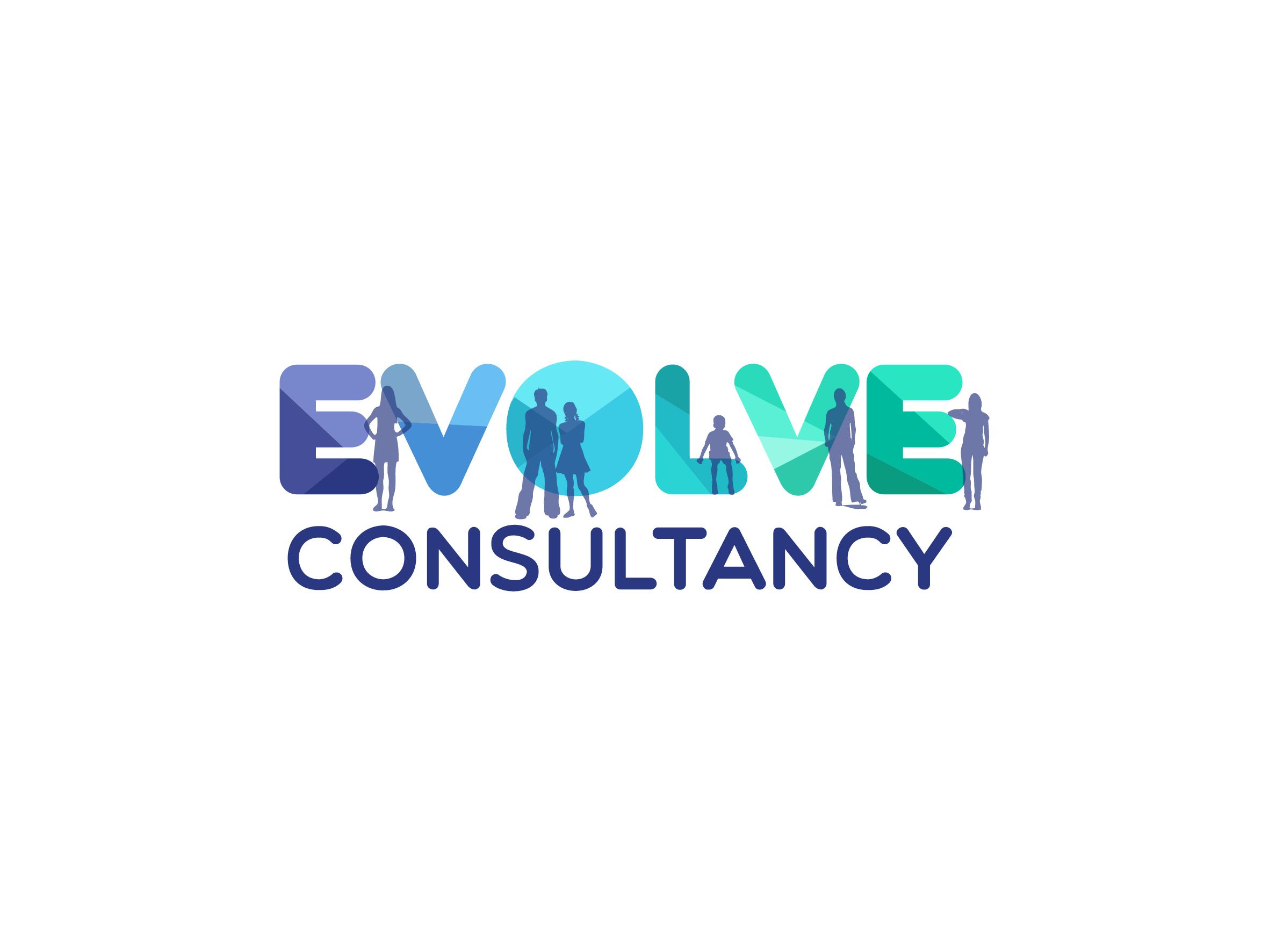 evolve consultancy logo design designed by Dakini Design Saltaire, Shipley, Bradford