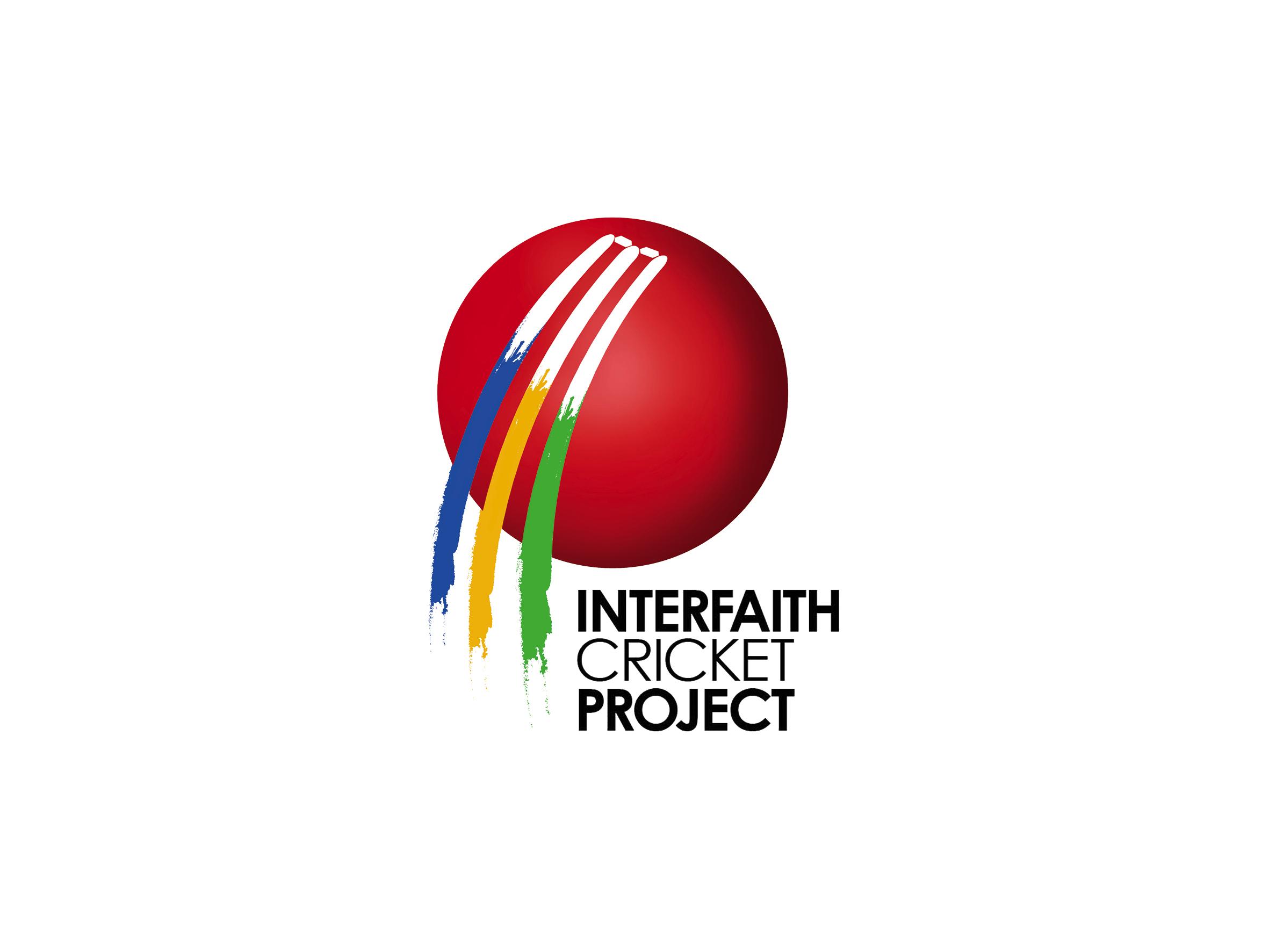 interfaith cricket project leeds logo design designed by Dakini Design Saltaire, Shipley, Bradford