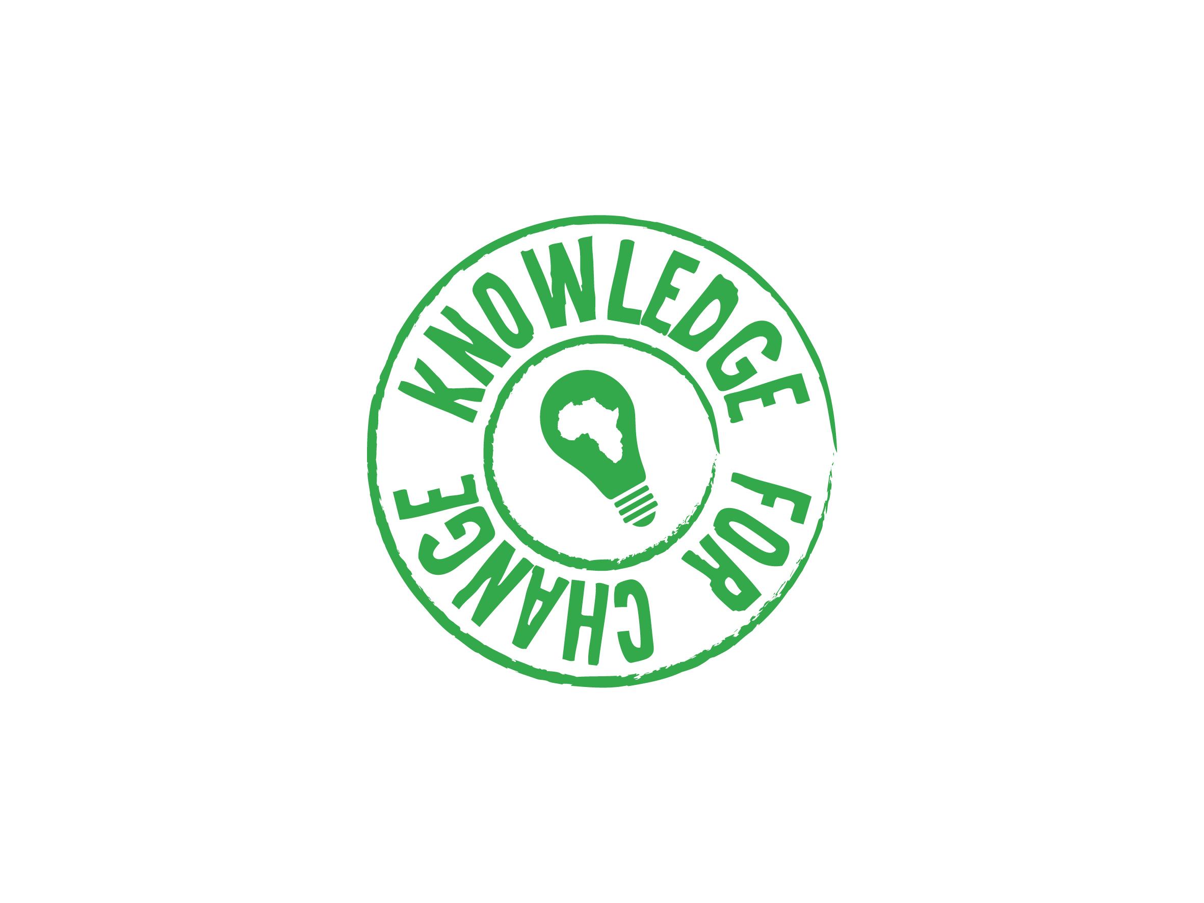 knowledge for change logo design designed by Dakini Design Saltaire, Shipley, Bradford