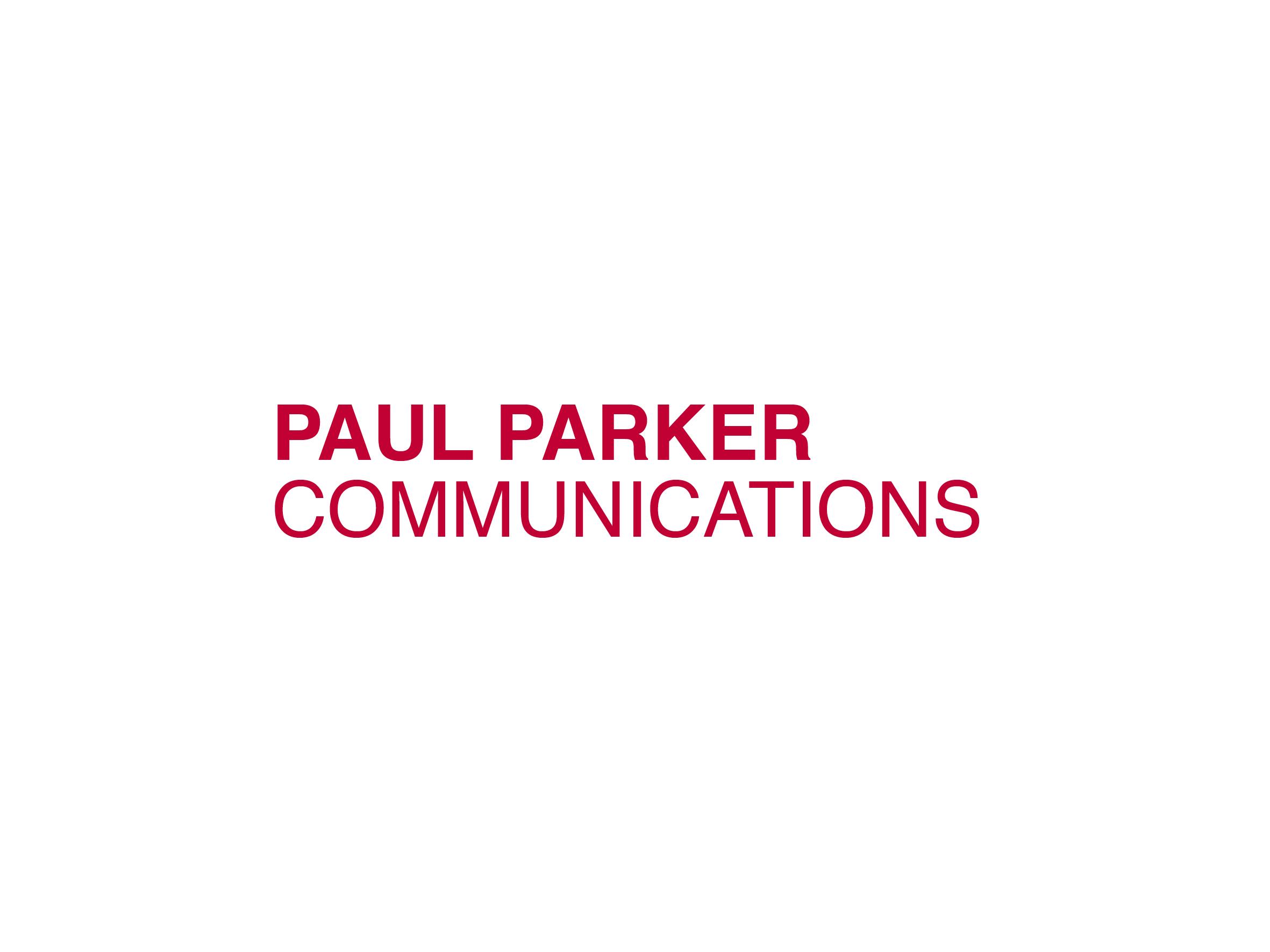 paul parker communications bradford logo design designed by Dakini Design Saltaire, Shipley, Bradford