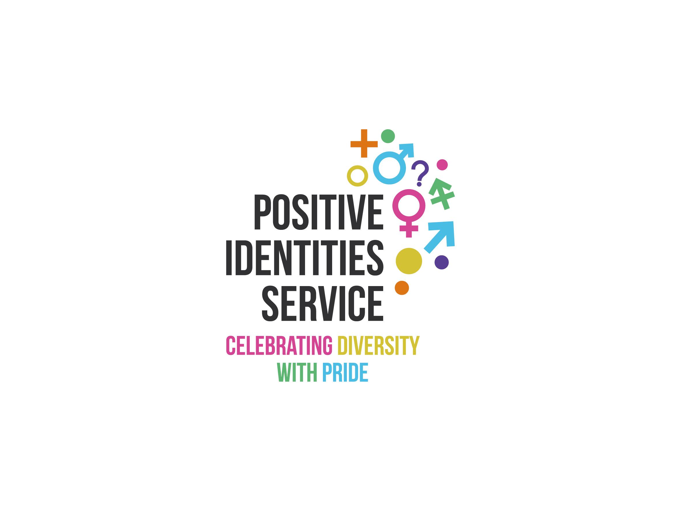 positive identities service barnardo's logo design designed by Dakini Design Saltaire, Shipley, Bradford