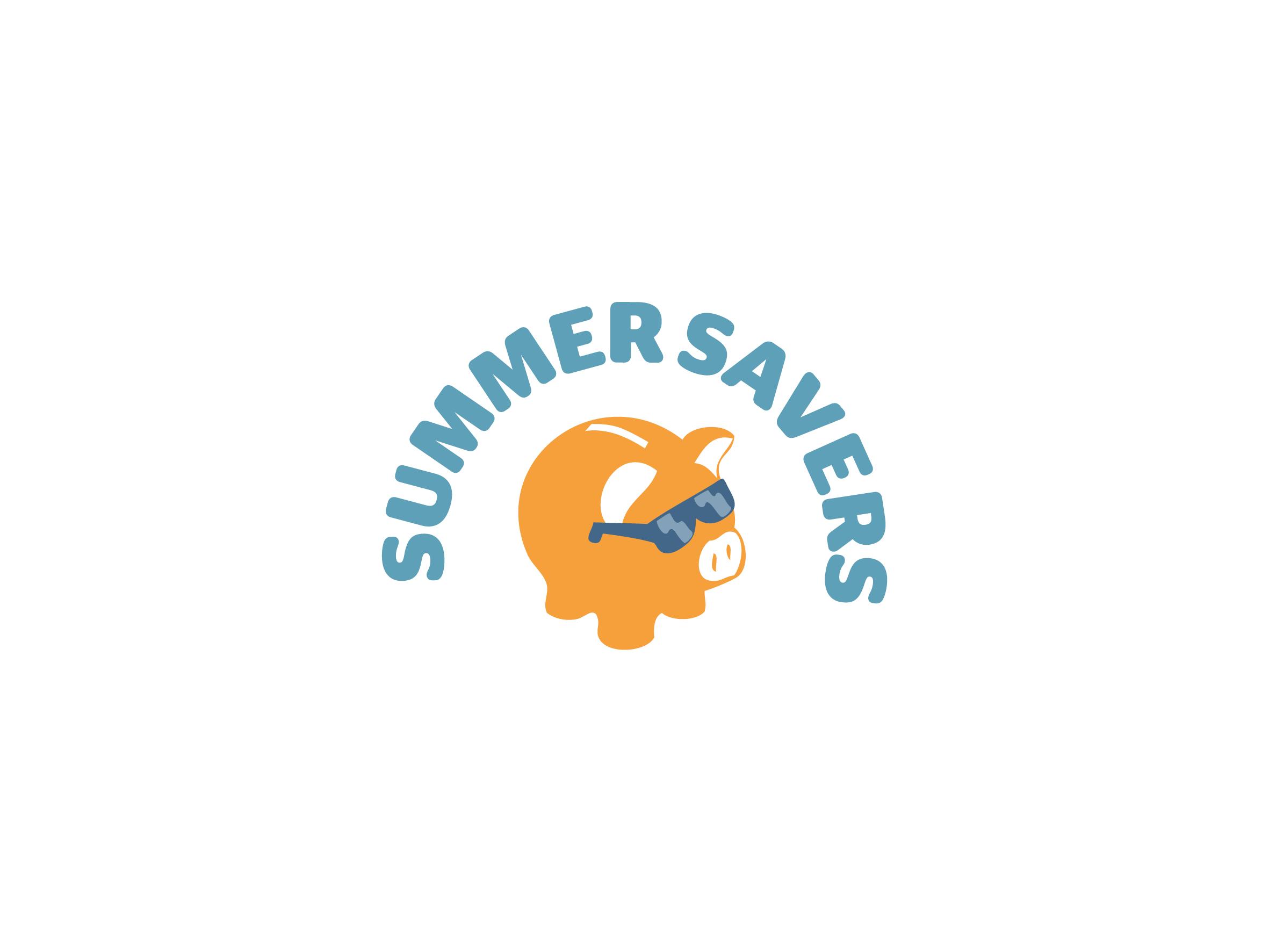 summer savers logo design designed by Dakini Design Saltaire, Shipley, Bradford