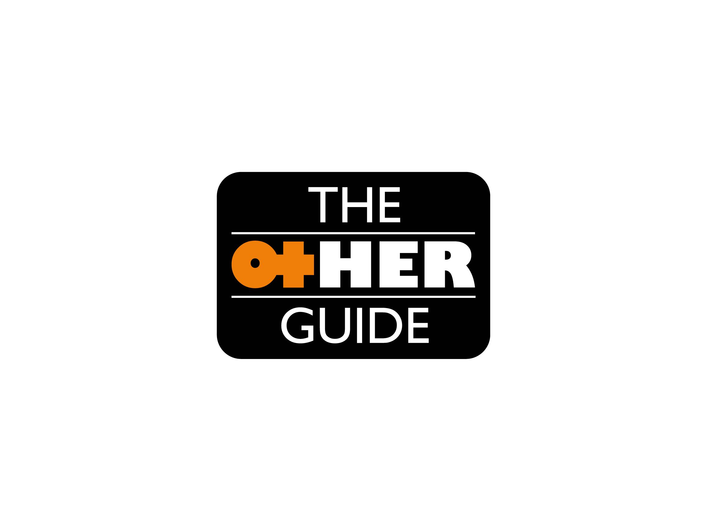 the other guide logo design designed by Dakini Design Saltaire, Shipley, Bradford