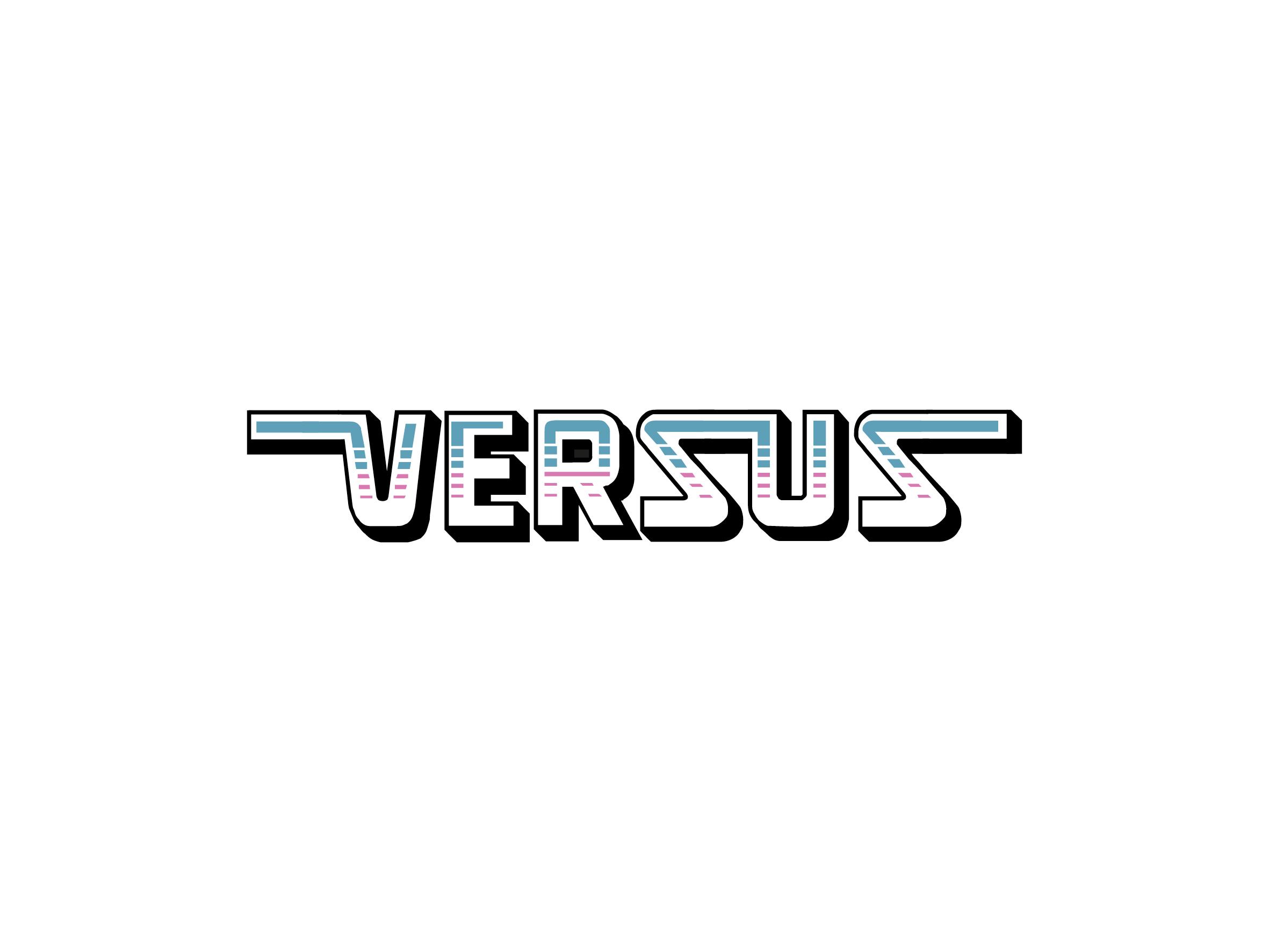 versus night logo design designed by Dakini Design Saltaire, Shipley, Bradford